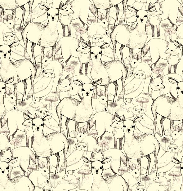 I love how neutral this one is and the animal pattern is beautiful.