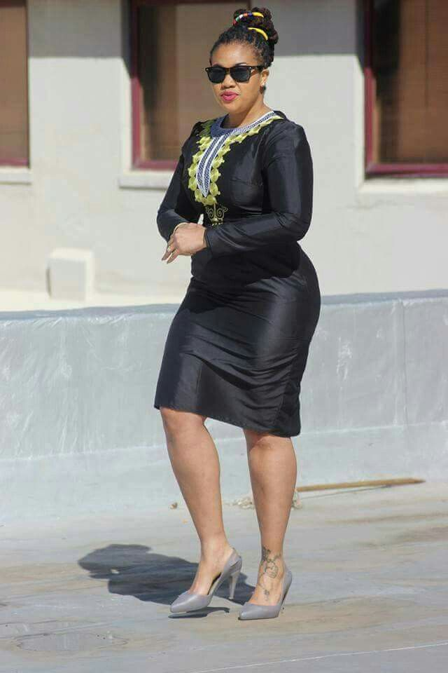 Love love love this!!!! Bow Afrika #ankara #haute South African fashion
