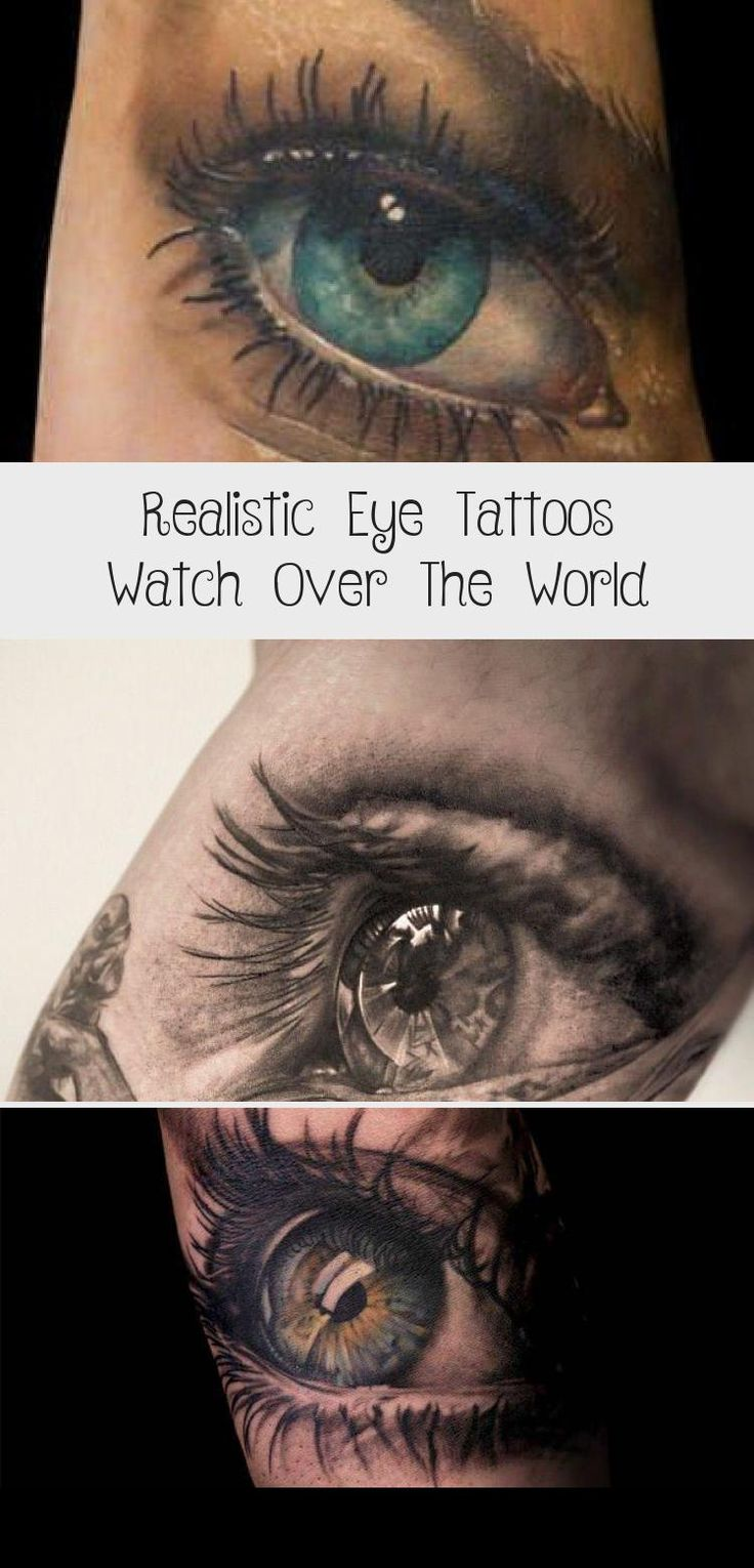 Realistic eye tattoos watch over the world in 2020