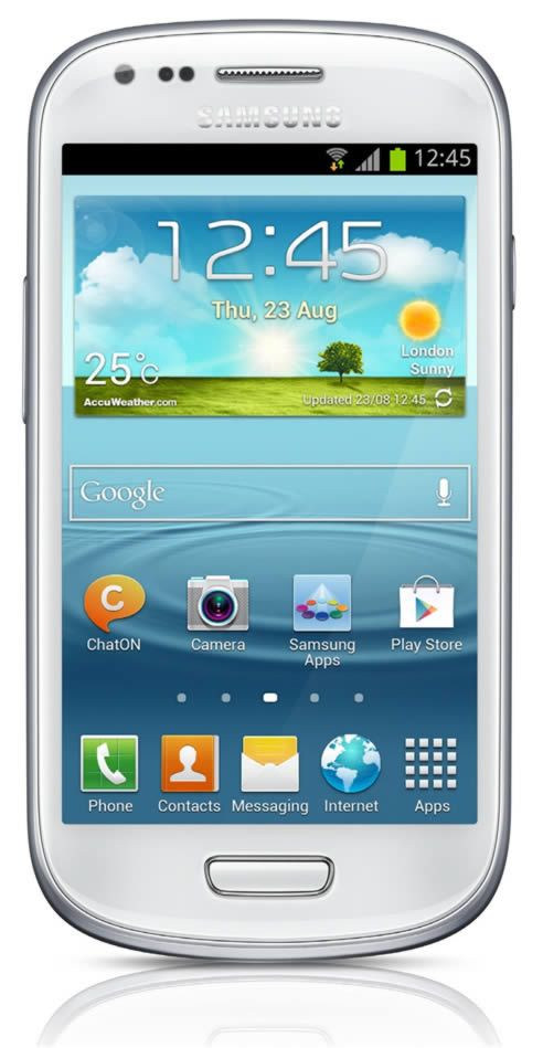 Samsung Galaxy S3 Mini Android 4.1 Jelly Bean Features