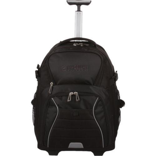 Magellan Outdoors Summit Wheeled Backpack Black - Backpacks at Academy Sports