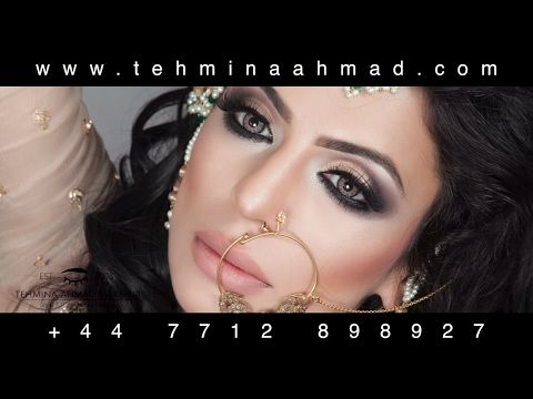 Asian Pakistani Indian HD Airbrush Bridal Bridal Makeup Tutorial | Tehmina Ahmad Makeup Academy http://makeup-project.ru/2018/02/08/asian-pakistani-indian-hd-airbrush-bridal-bridal-makeup-tutorial-tehmina-ahmad-makeup-academy/