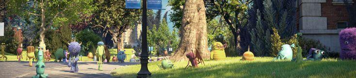 La vie sur le campus...