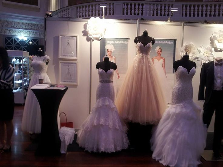 Regalia Bridal Designs at the 2014 Ideal Bride Expo.  http://www.mybridalcentre.com.au/service-providers/regalia-bridal-designs/