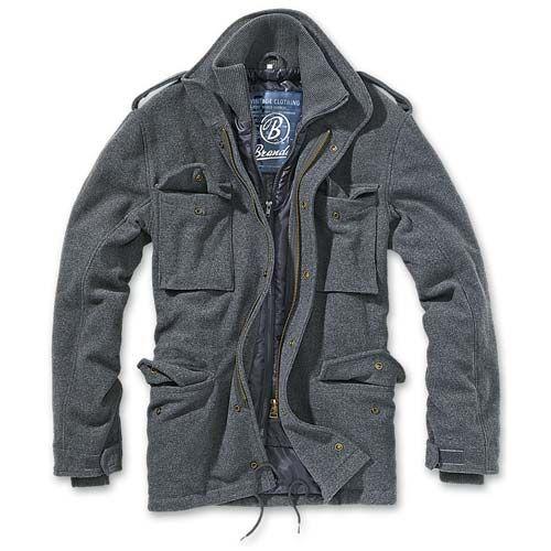 Idee regalo per San Valentino  Giacca M-65 Voyager Wool Anthracite Brandit  #sanvalentino #gift