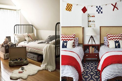 rooms for boys: Classic Boys, Clotheslines Ideas, Boys Rooms Loki, Nautical Rooms, Blue Rugs, Boy Rooms, Older Boys, Zigzag Pillows, Boys Rooms1
