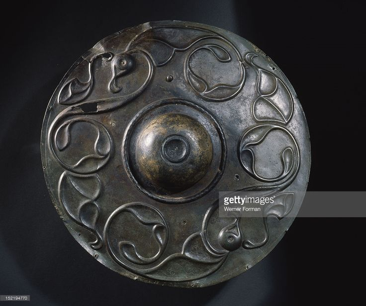 Wandsworth shield boss, United Kingdom, 1st-2nd century BC