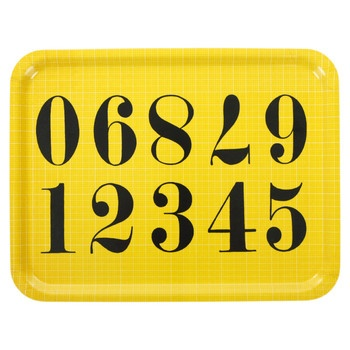 Eames | Numbers Tray by Eames