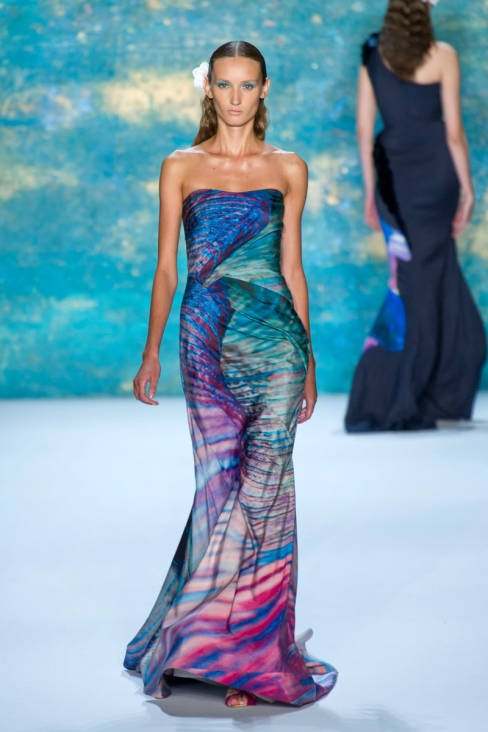 Monique Lhuillier Spring 2013 Ready-to-Wear Runway - Monique Lhuillier Ready-to-Wear Collection - ELLE