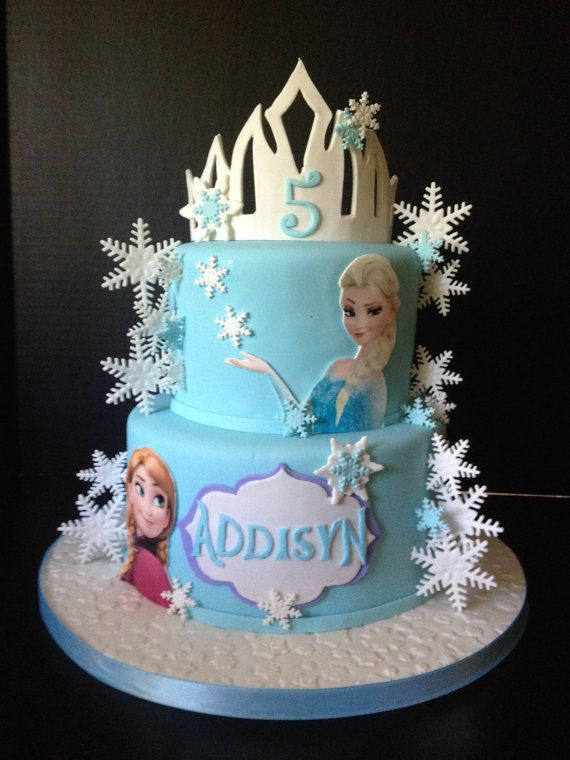 Best 25+ Frozen cake decorations ideas on Pinterest ...
