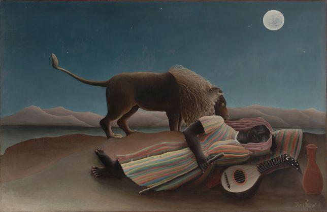 Henri Rosseau 'The Sleeping Gypsy' 1897
