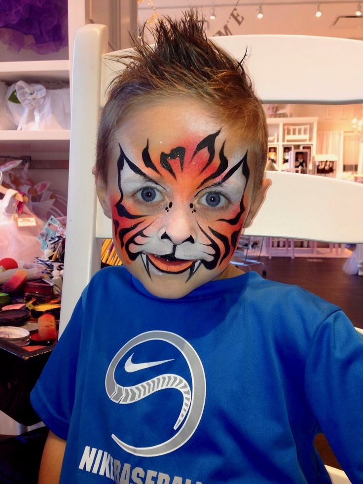 613 best images about a face paint animals on pinterest for Airbrush tattoo paint