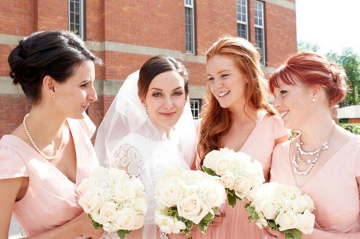 Bridal Party, Edmonton Wedding
