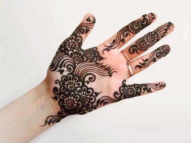 2013 New Arabic & indian Eid Mehndi Designs For Girls-Mehndi Design Collection - StyleGlow.com