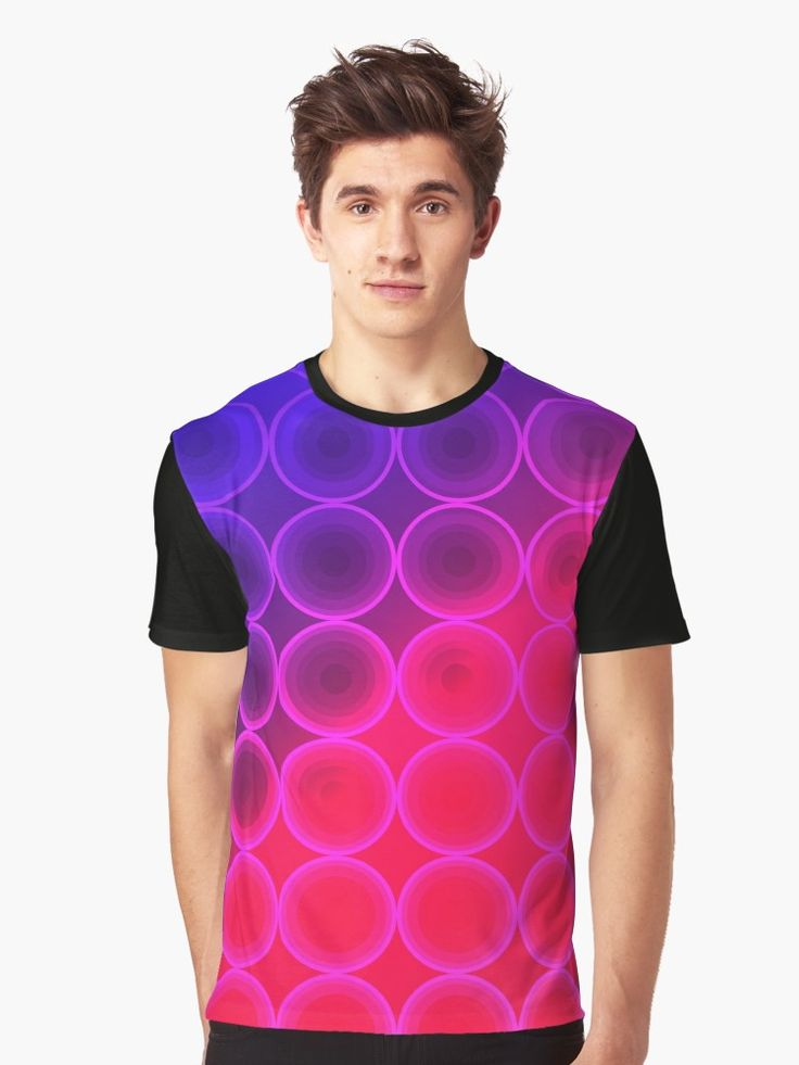 Retro 80's Style T-Shirt with Geometric Pattern and Vivid Colors by Scar Design.   #geometric #tshirt #circles #1980 #retro #80s #tshirtfashion #clothing  #art #style #fashion #gifts #giftsforhim #giftsforher #design #popart #onlineshopping #popular #tshirtdesign #39;s #colorful #music #edm #dancemusic #electronicmusic #housemusic #house #edmfamily #edmlife  #edmpartypeople #family #kids #cool #geometry #purple #violet   • Also buy this artwork on apparel, stickers, phone cases, and more.