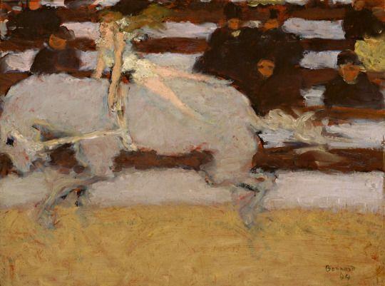 Pierre Bonnard (French, 1867-1947) - Circus Rider, 1894