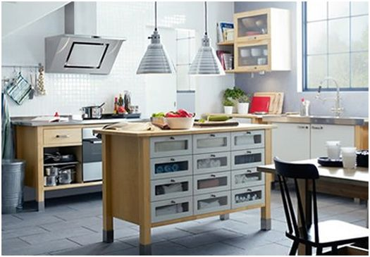 Cooking Free With Freestanding Kitchen Cabinets ...