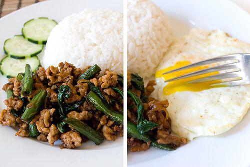 Gai Pad Krapow (Thai Basil Chicken)