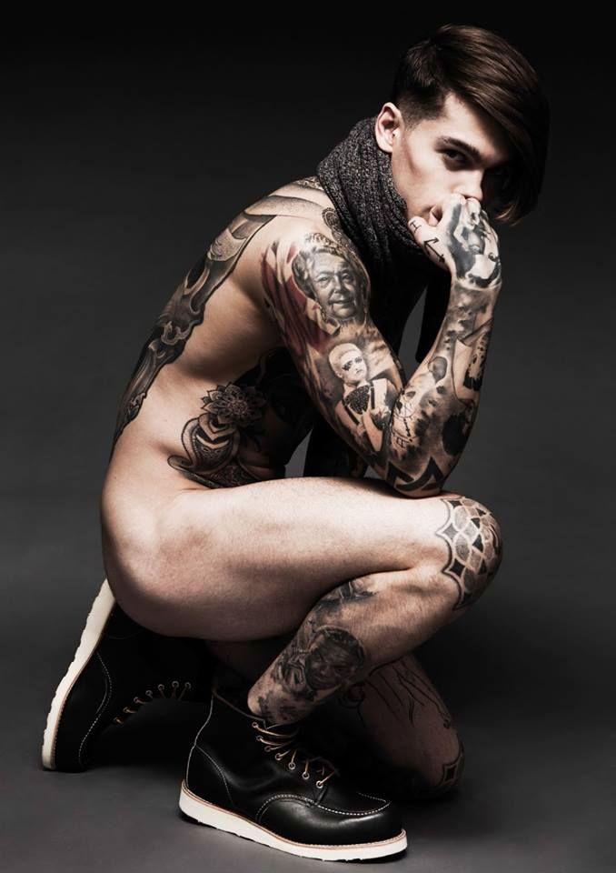 Darren Black | Stephen James (model)