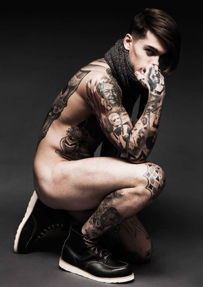 Darren Black | Stephen James (model)