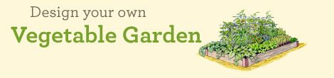 Gardener's Supply Kitchen Garden Planner, planting map   Grow Your Own Vegetables