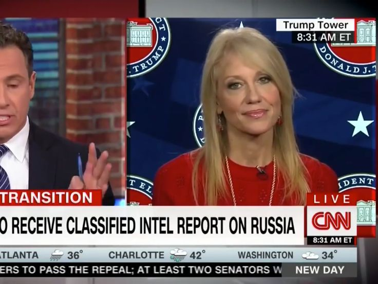Chris Cuomo Spars With Conway On Russia: 'You Won't Even Say It!'