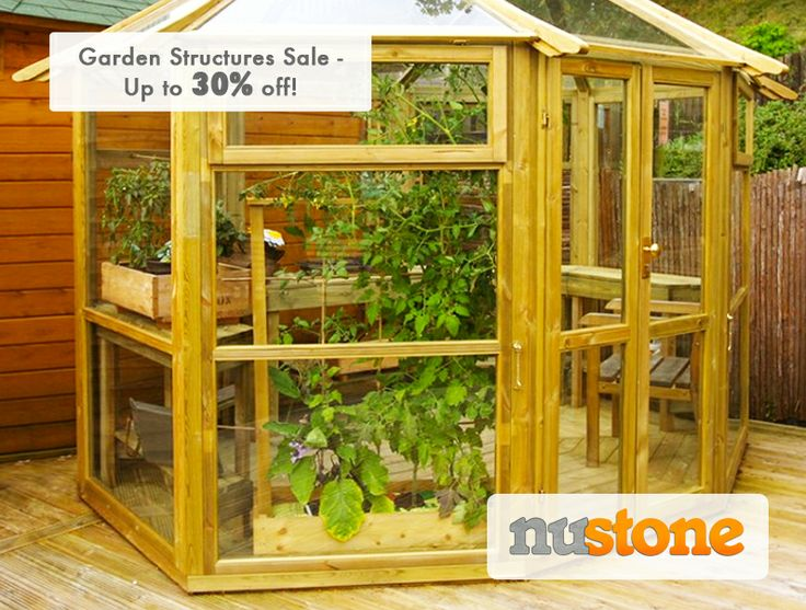 We've got a major #sales of up to #30% off our range of #garden structures! Pick up a #deal today!   http://www.nustone.co.uk/garden-structures/garden-buildings.html