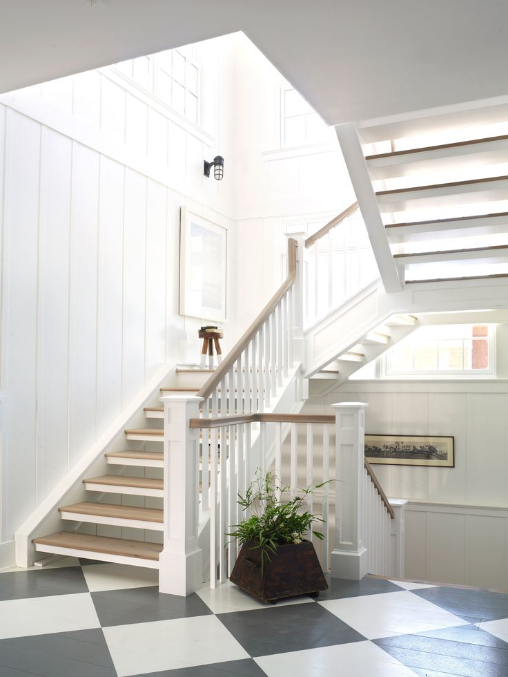 432 best SPACES-STAIRCASE images on Pinterest | Stairs, White ...