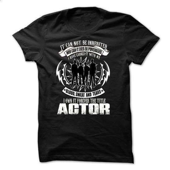 Actor - #tshirt bemalen #hoodie novios. MORE INFO => https://www.sunfrog.com/Faith/Actor-28819300-Guys.html?68278