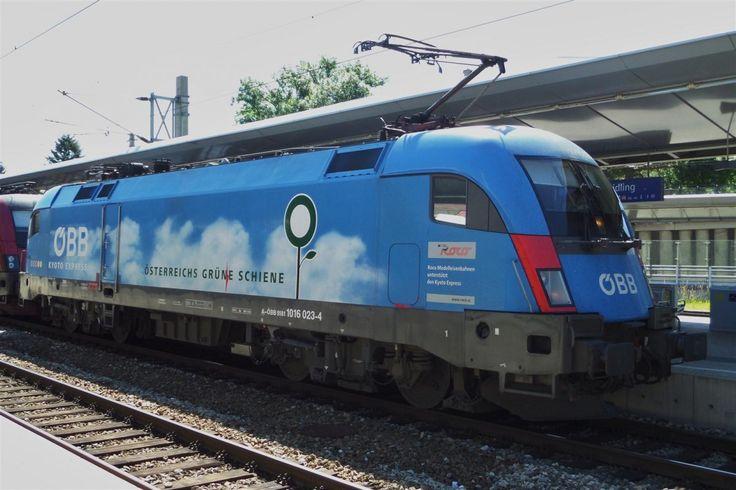 BR 182  ÖBB Österreichs grüne Schiene