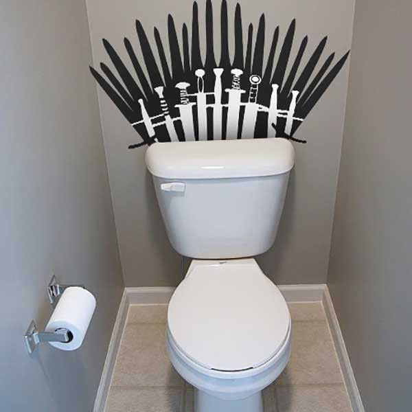 Game Of Thrones Toilet Decal
