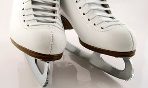 Ice-Skating with Snacks for Two or Four or Beginner Ice-Skating Lessons at Kent Valley Ice Centre (Up to 51% Off)