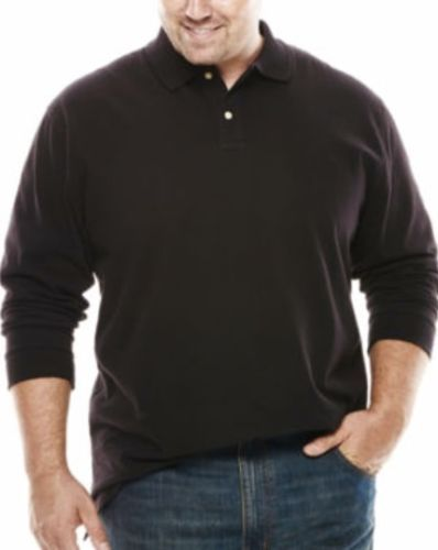The Foundry Mens Big Tall Polo Shirt Polo Long Sleeves Solid size 5XL NEW  https://www.ebay.com/itm/Foundry-Mens-Big-Tall-Polo-Shirt-Polo-Long-Sleeves-Solid-size-5XL-NEW-/253436611074?var=&hash=item80a9c7f7e9