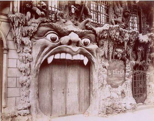"""Cabaret de l'Enfer"" (Hell Cabaret) was a popular Paris nightclub in the 1890s"