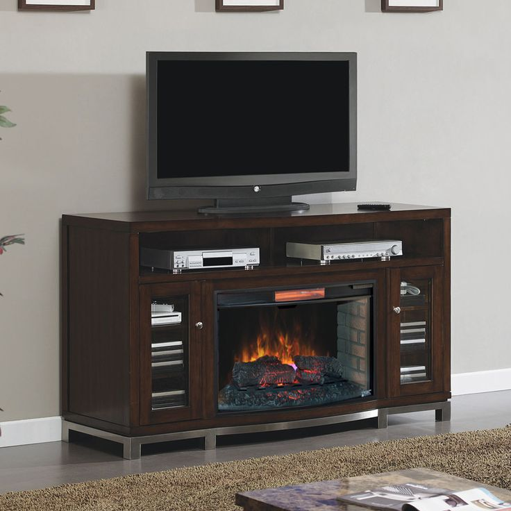 best 25 electric fireplace media center ideas on. Black Bedroom Furniture Sets. Home Design Ideas