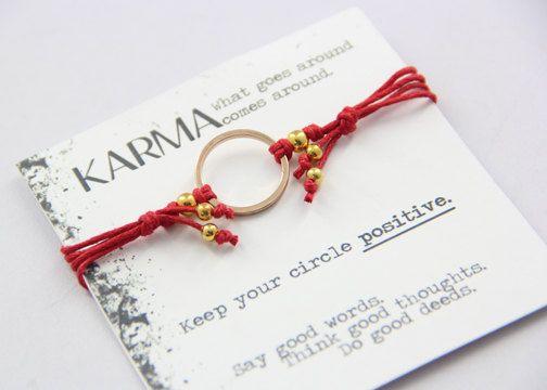 Satori Karma Bracelet by SoulSparks on Etsy, ₱150.00