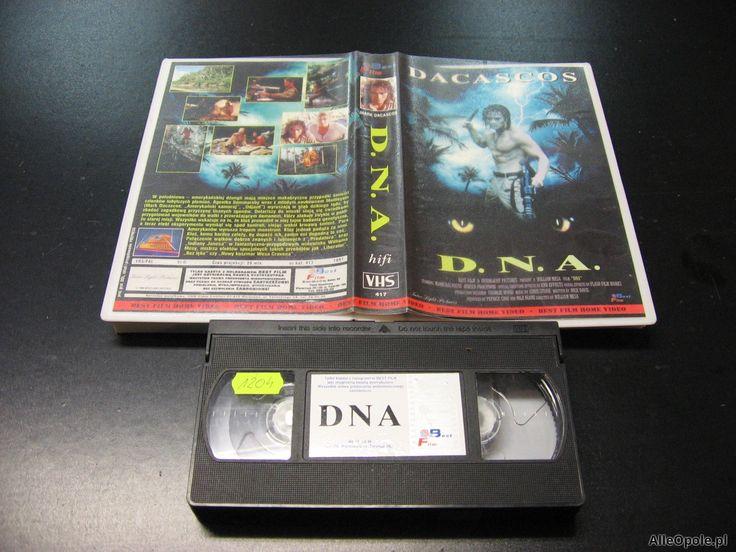 D.N.A. - kaseta VHS - 1006 Opole - AlleOpole.pl (Opole)