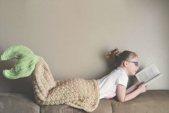 Hey, I found this really awesome Etsy listing at https://www.etsy.com/listing/233030572/crochet-pattern-for-mermaid-tail-blanket