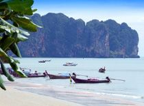 ...powdery white sand beaches,gin-clear water, limestone cliffs, hidden caves and great resort hotels