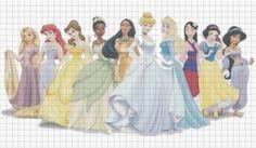 Cross Stitch Patterns Free Printable Disney