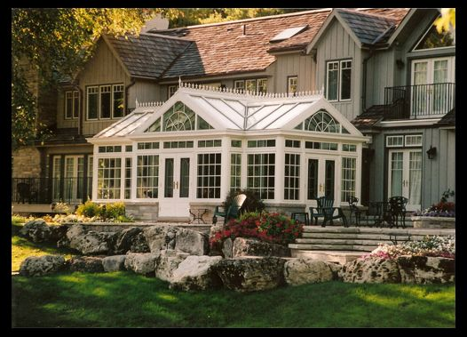 Luxury Country Conservatory Addition With Glass Roof In Toronto Conservatory Solarium Sunroom