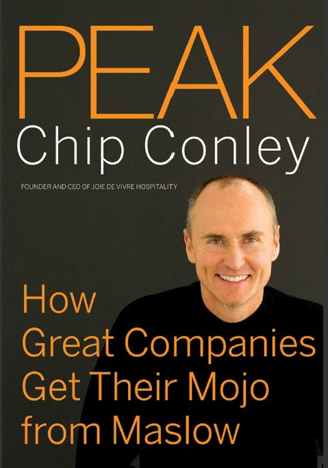 "Conley, Chip. ""Peak : How Great Companies Get Their Mojo From Maslow [electronic resource]"". San Francisco : Jossey-Bass, 2007."