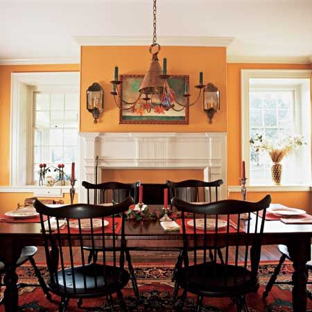 Create A Colonial Style Dining Room Colonial Home Decorcolonial