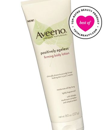 "The Best: No. 5: Aveeno Positively Ageless Firming Body Lotion, $8.99. It firms fairly well and leaves skin ridiculously soft and moisturized,"" a reviewer writes. All in all, the product may not be a miracle, but for less than $10, readers are pleased."
