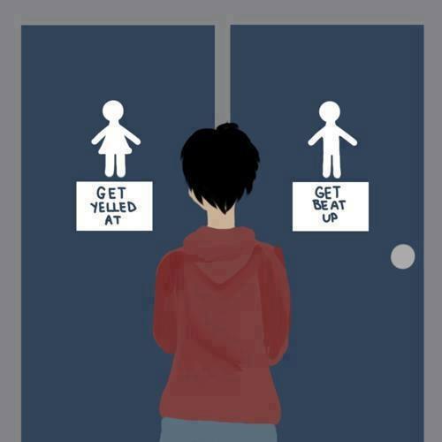 Transgender bathroom cartoon-7198