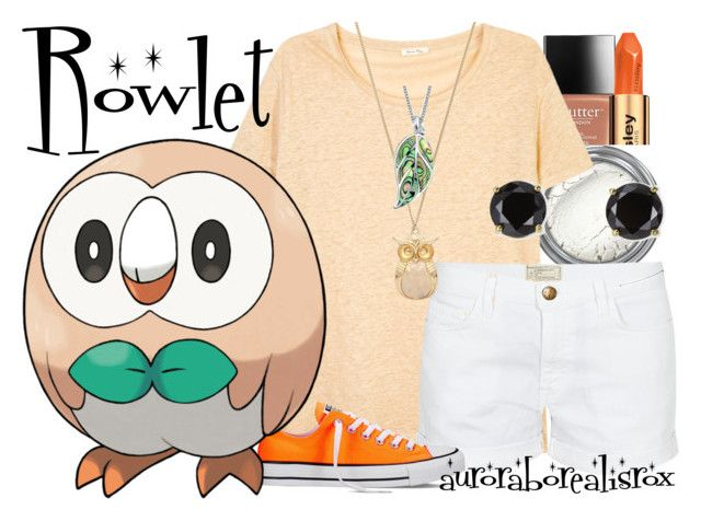 """""""Rowlet"""" by auroraborealisrox ❤ liked on Polyvore featuring Sisley, American Vintage, Current/Elliott, Converse, Forever 21, Bling Jewelry and Jardin"""
