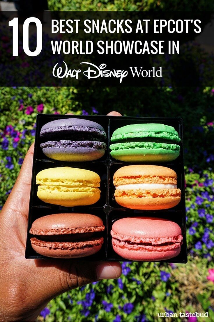 10 Best Snacks at Epcot's World Showcase