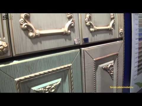 Мебельный декор (молдинги, накладной декор, опоры) из ПВХ Bramek - YouTube