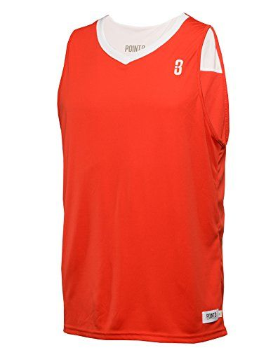 POINT 3 Reversible Unisex Basketball Jersey. Made from lightweight moisture-wicking four-way stretch fabric with aerated fabric at the shoulders and underams to keep you cool and dry. The Reversible jersey is made for basketball players of all ages and skill levels. It is NFHS compliant for game use. The jersey features rib-knit V-neck and armholes and can be hooked up with our DRYV Uniform Shorts for a perfect game day look. Available in five colors. Made in Colombia, South America…