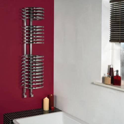 Design Radiator Loop - een fantastisch staal model met een chromen afwerking!